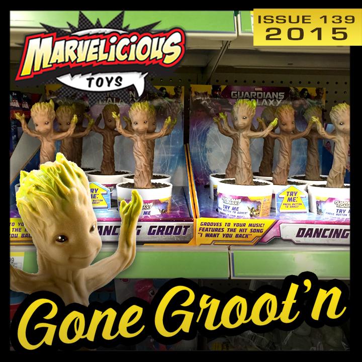 Issue 139:  Gone Groot'n