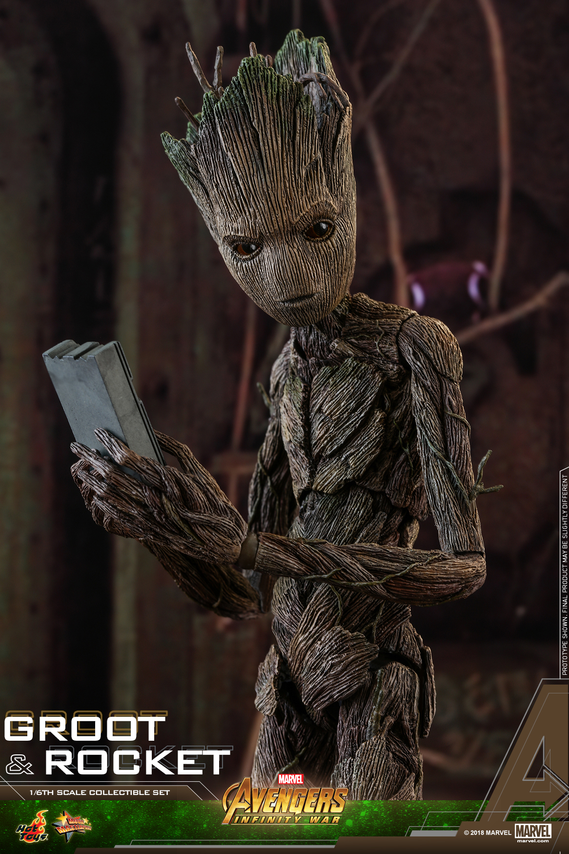 Hot Toys - AIW - Groot & Rocket collectible set_PR11
