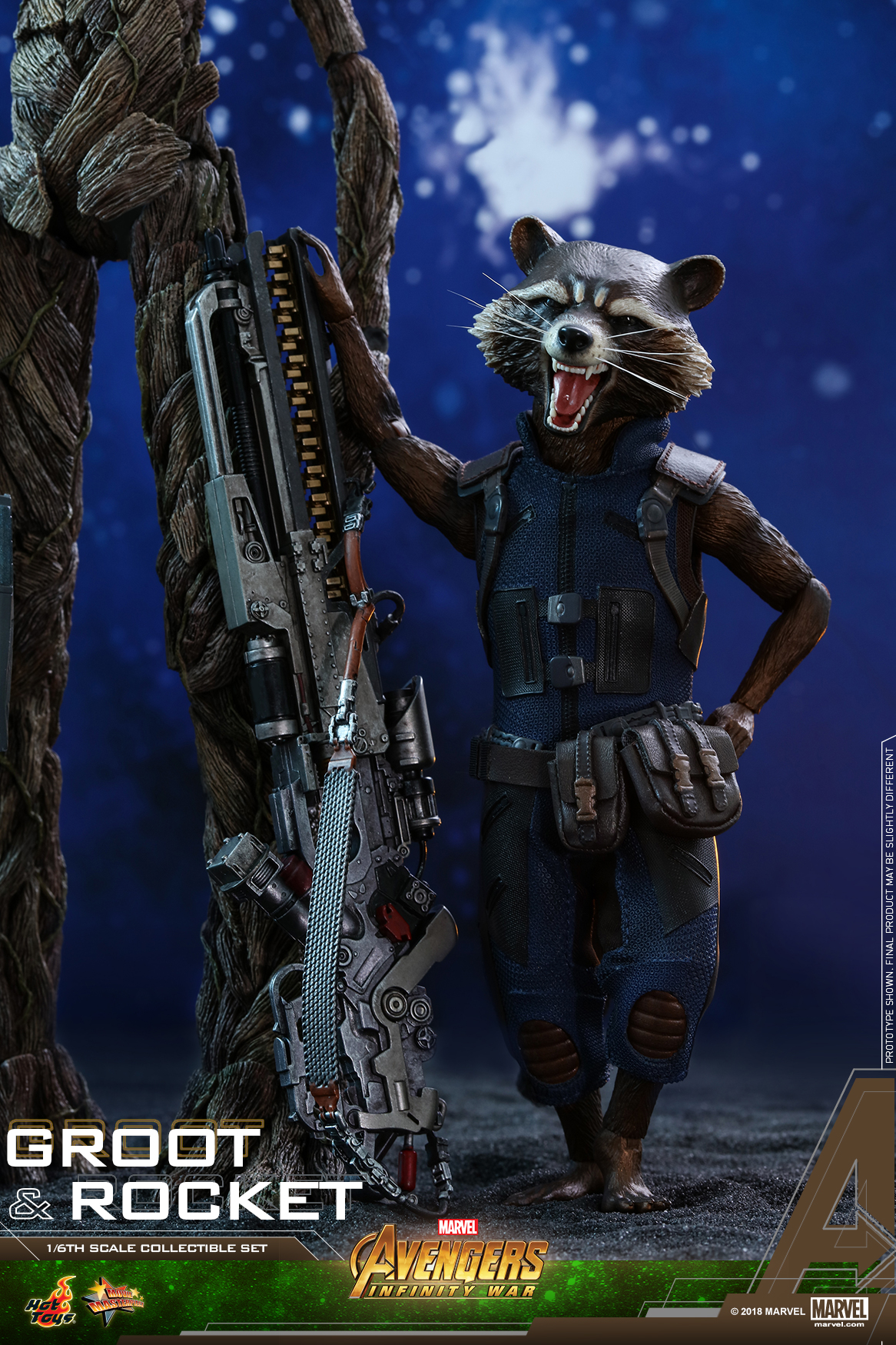 Hot Toys - AIW - Groot & Rocket collectible set_PR14