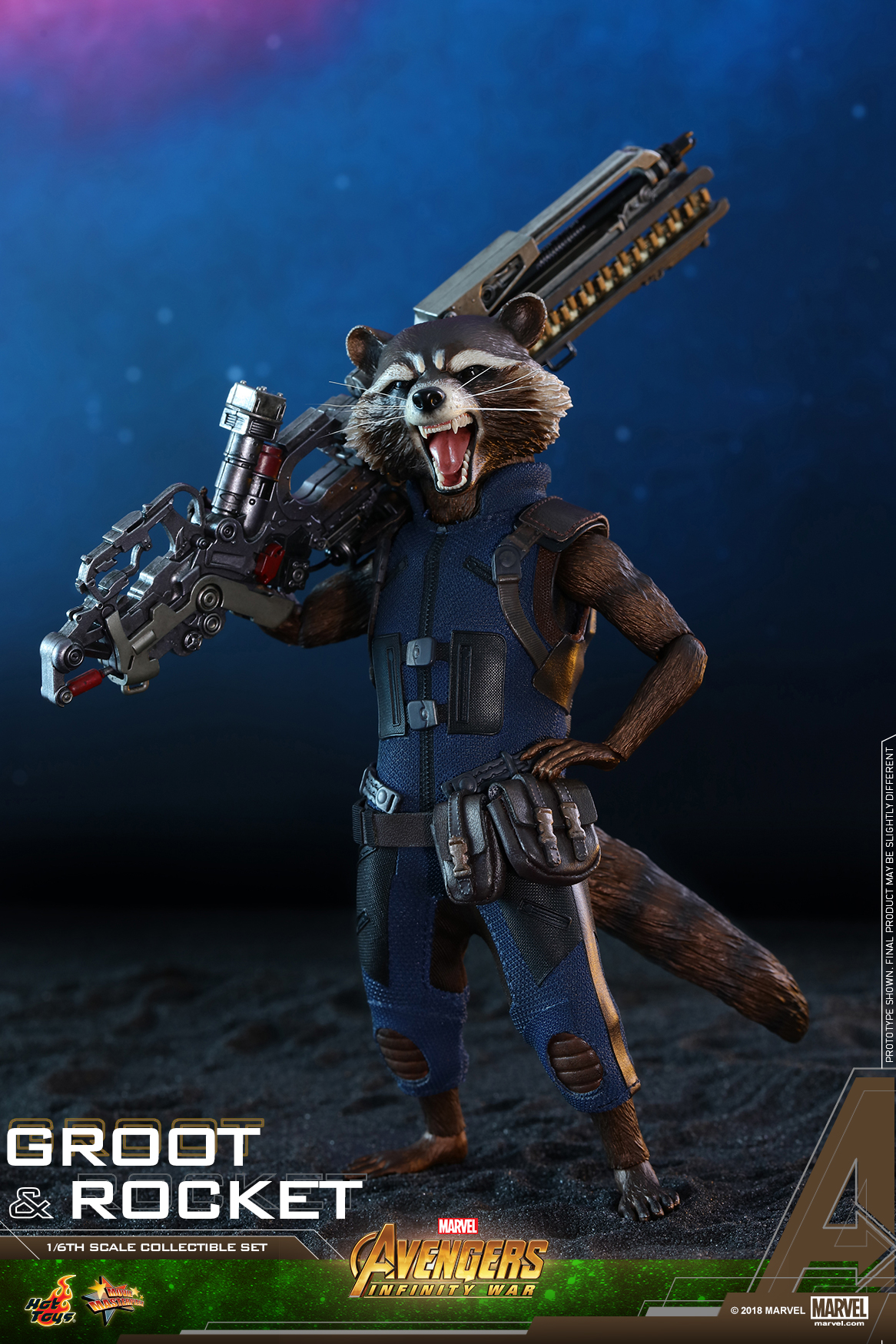 Hot Toys - AIW - Groot & Rocket collectible set_PR16