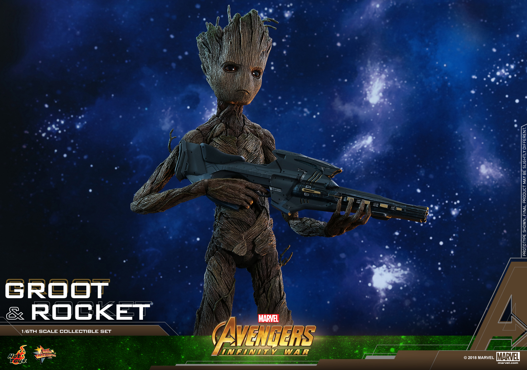 Hot Toys - AIW - Groot & Rocket collectible set_PR20