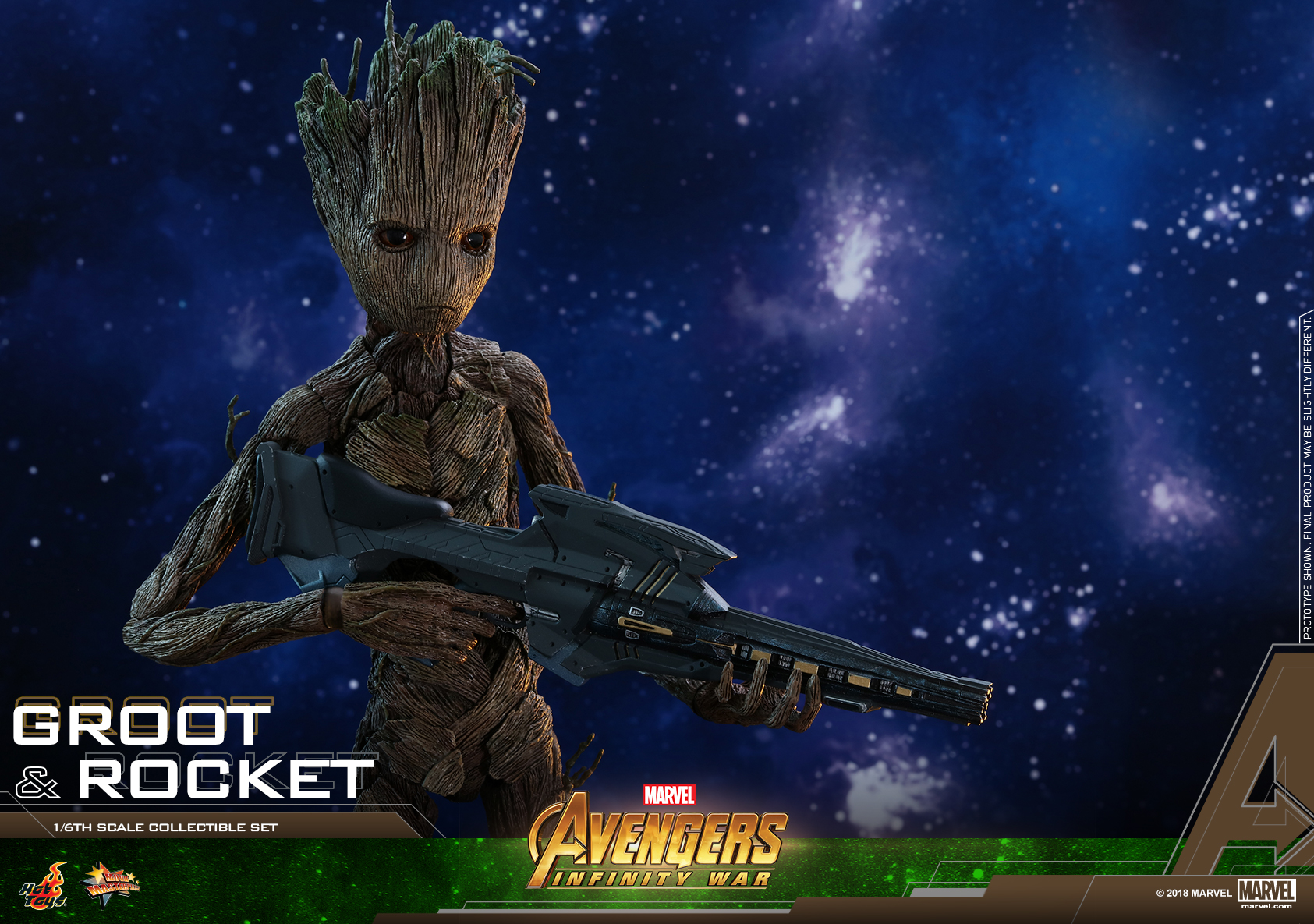 Hot Toys - AIW - Groot & Rocket collectible set_PR21