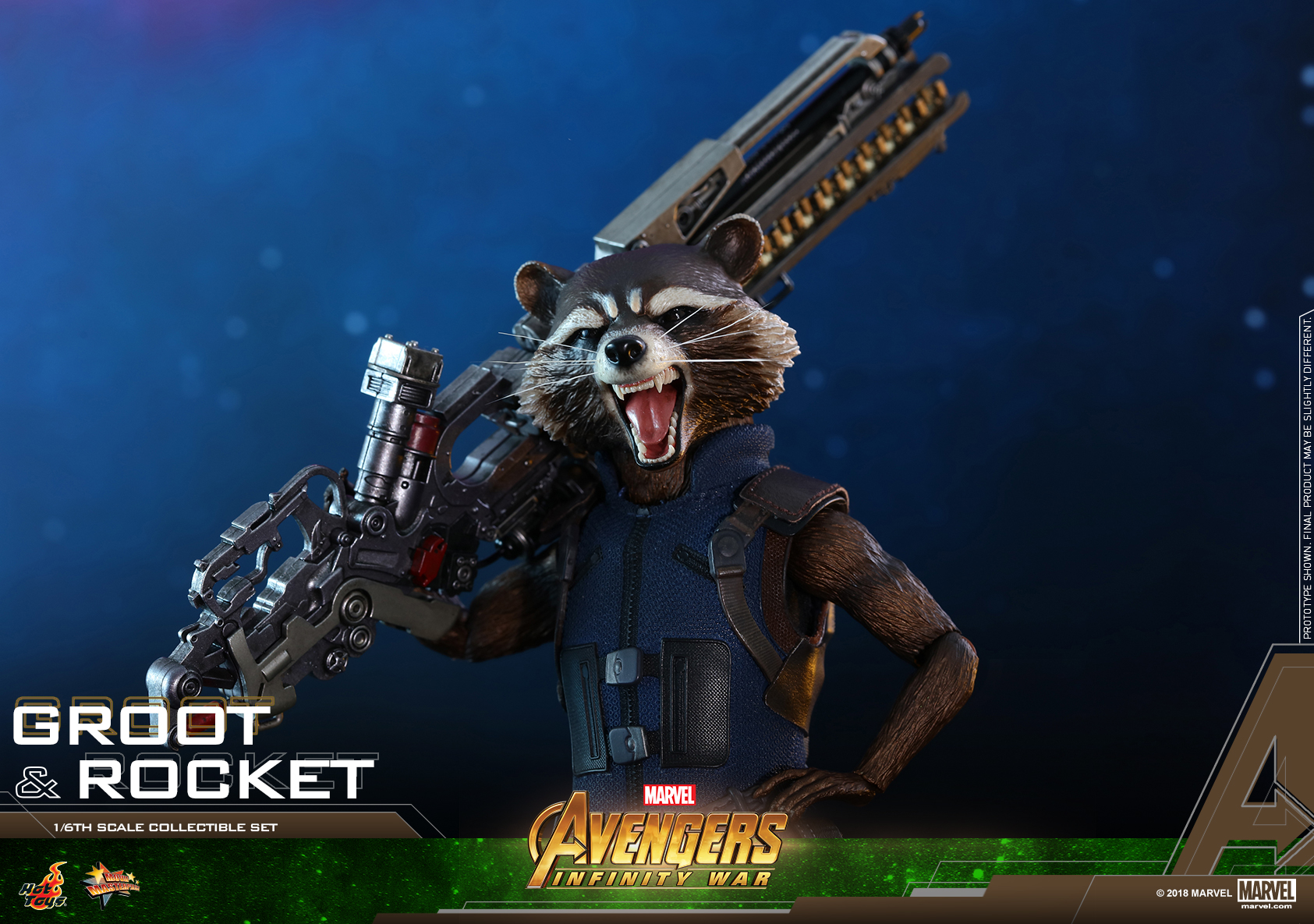 Hot Toys - AIW - Groot & Rocket collectible set_PR23