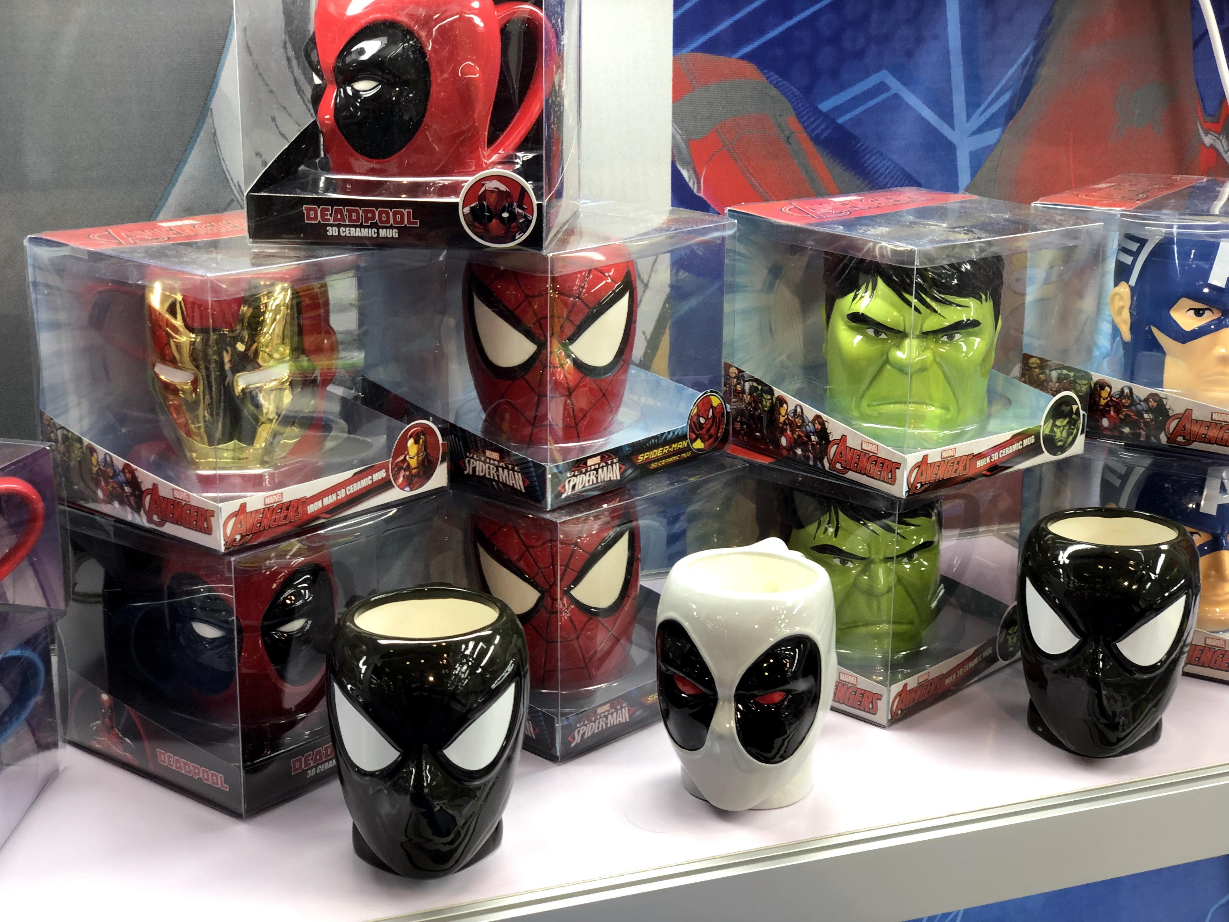 2018 Toy Fair Monogram International Ceramic Mugs 01