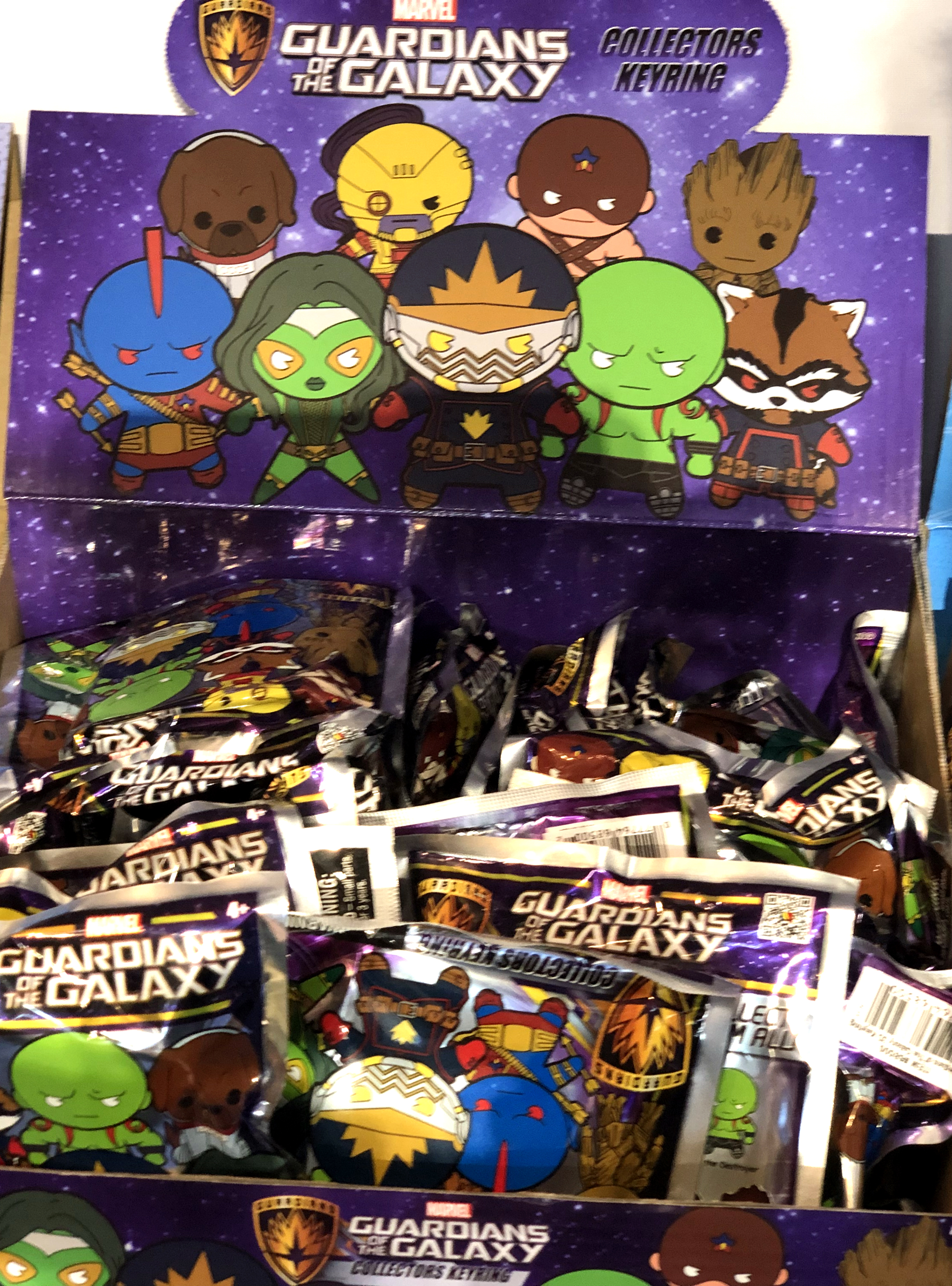 2018 Toy Fair Monogram International Guardians of the Galaxy Collectors Keyrings 01