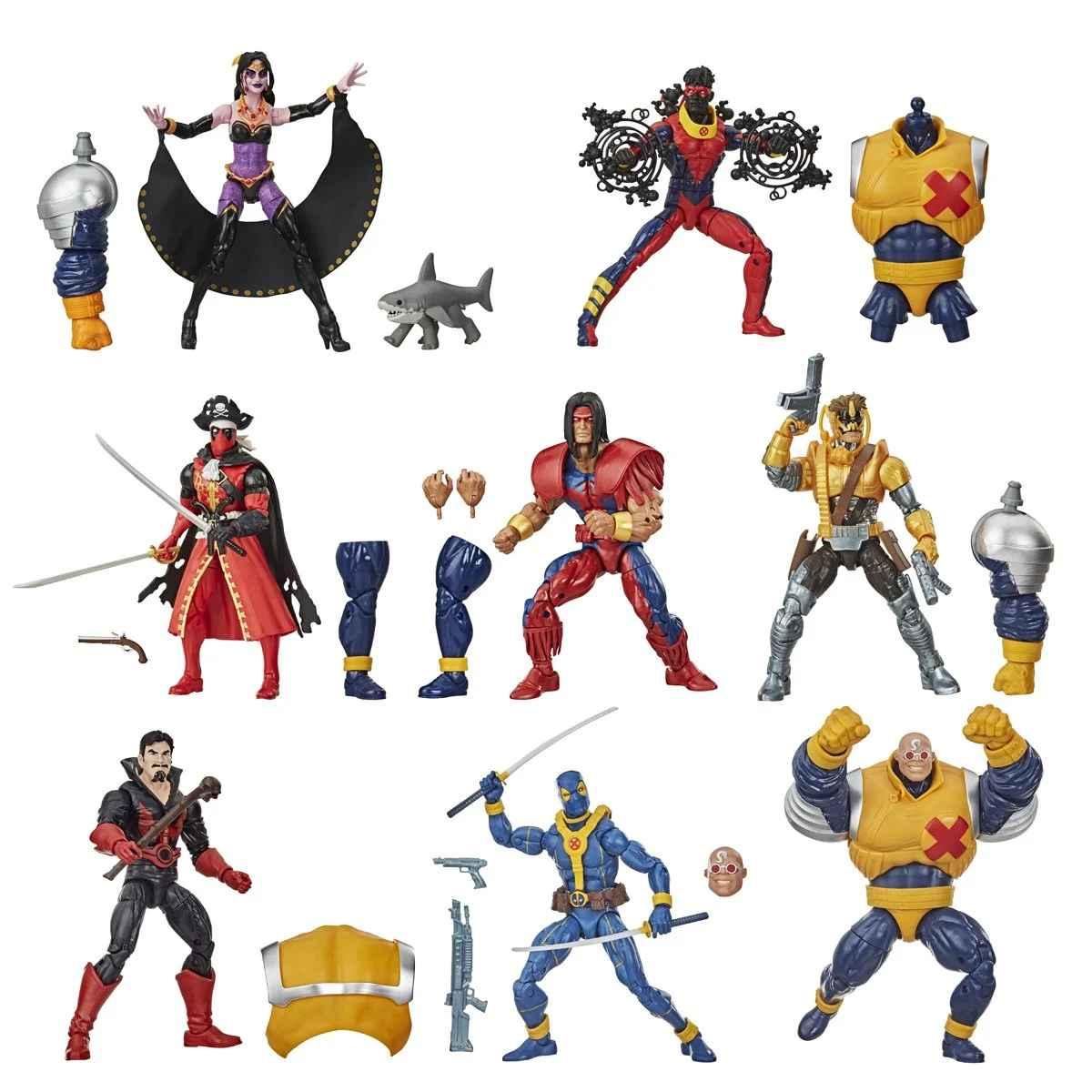 Strong Guy Build-A-Figure Marvel Legends Wave