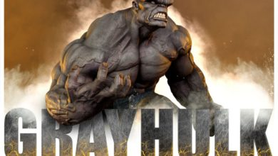 Photo of Pre-Order Alert: We have a (Gray) Hulk from Sideshow Collectibles
