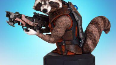 Photo of Gentle Giant Announces SDCC Exclusive Rocket Raccoon Mini-Bust!