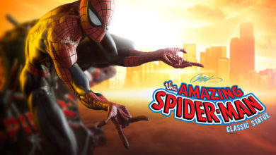 Photo of Pre-Order Alert: Spider-Man J Scott Campbell Maquette, Classic Colors, from Sideshow Collectibles
