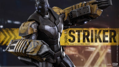Photo of Pre-Order Alert: Hot Toys Iron Man Striker Armor Mk XXV