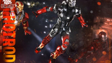 Photo of Pre-Order Alert:  Hot Toys – Iron Man 3 Hot Rod (Mark XXII) Collectible Figure (Hot Toys Exclusive)