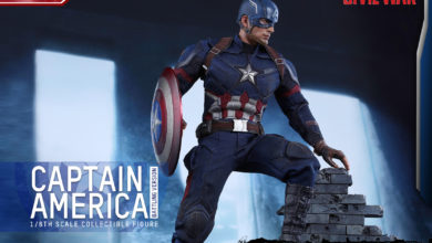 Photo of UPDATE:  Hot Toys MOVIE PROMO Captain America on WAITLIST!