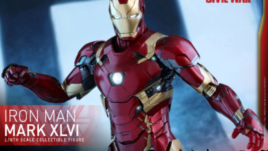 Photo of Pre-Order Alert: Hot Toys Die Cast Iron Man Mk 46 from Civil War