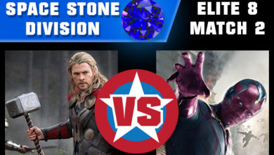 Photo of Marvel Madness Elite 8 – Vision vs Thor