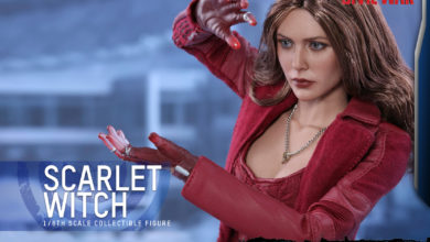 Photo of Pre-Order Alert: Hot Toys Scarlet Witch MMS – Civil War Version