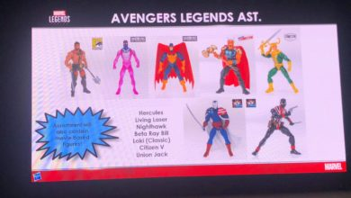 Photo of Hasbro Reveals Captain Marvel, Avengers Legends Figures at MCM Comic-Con