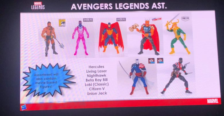 Hasbro Reveals Captain Marvel Avengers Legends Figures At Mcm Comic Con