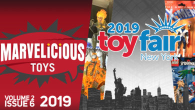 Photo of Marvelicious Toys Vol 2 Issue 6 – Toy Fair 2019 – Hasbro, Funko, and LEGO