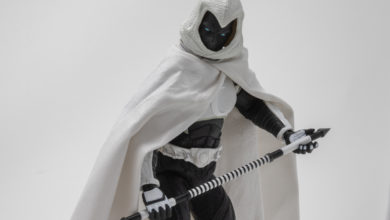 Photo of Over the Moon for Mezco's SDCC Exclusive One:12 Moon Knight (Crescent Edition)