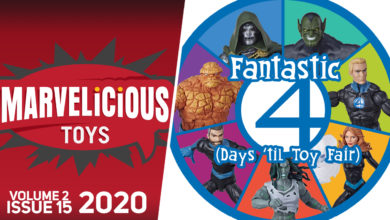 Photo of New Podcast: Marvelicious Toys Vol 2 Ep 15 — Fantastic 4 (Days Until Toy Fair)