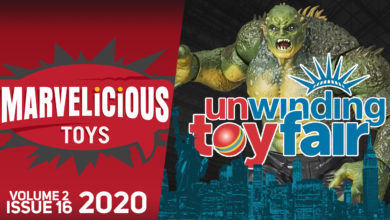 Photo of New Podcast: Marvelicious Toys Vol 2 ,Ep 16: Hasbro — Unwinding Toy Fair 2020