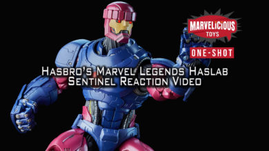 Photo of New Podcast: One Shot: Hasbro's Marvel Legends Haslab Sentinel Reaction
