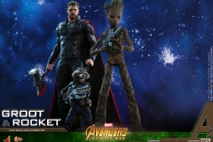 Hot Toys - AIW - Groot & Rocket collectible set_PR18