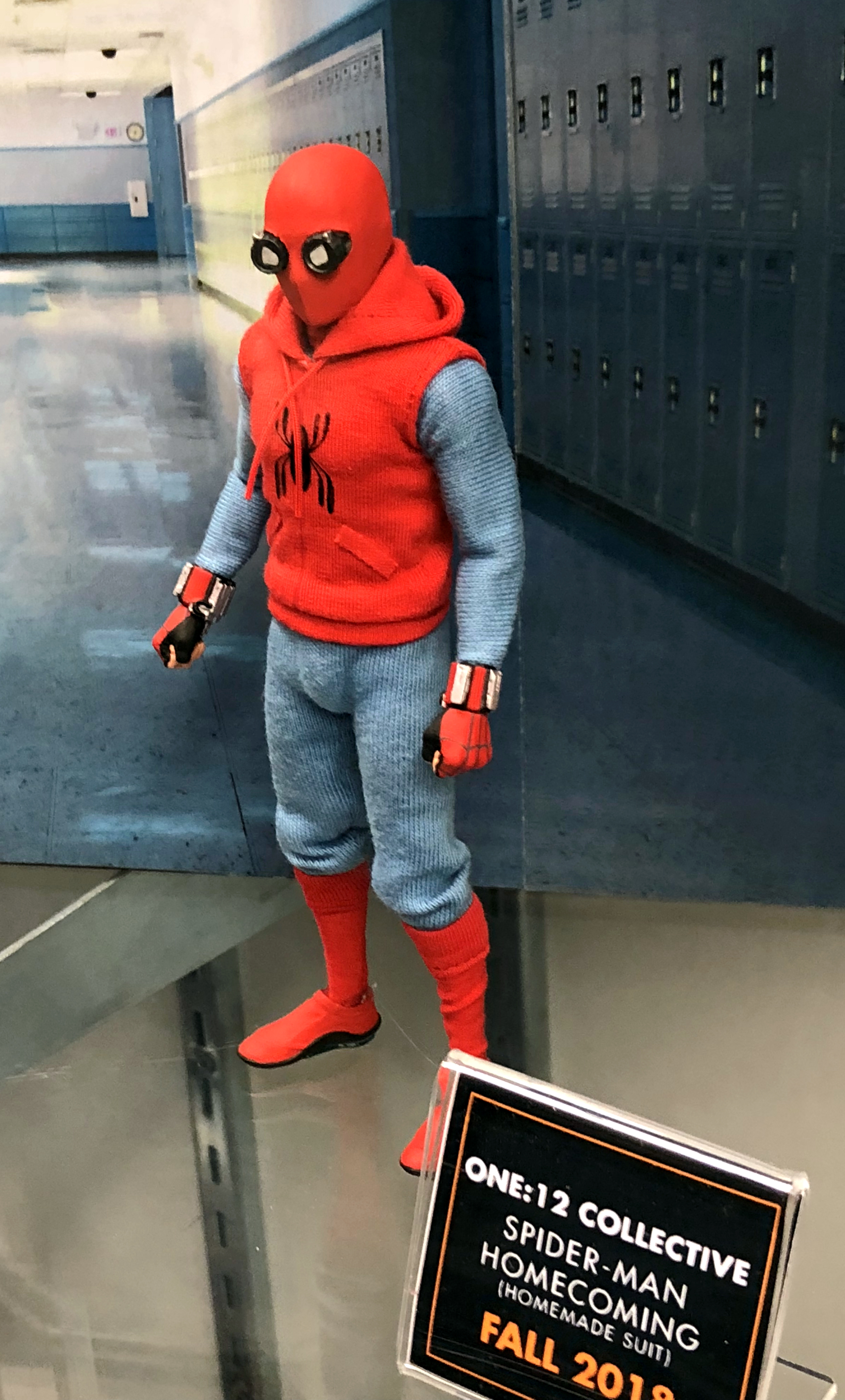 2018 Toy Fair Mezco One Twelve Collective Spider-Man Homecoming Homemade 01