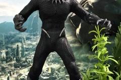 2018 Toy Fair Mezco Black Panther 02