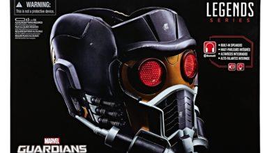 Hasbro Star-Lord Helmet Box